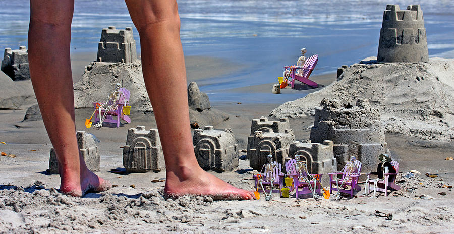 Beach Digital Art - Were Moving In by Betsy Knapp