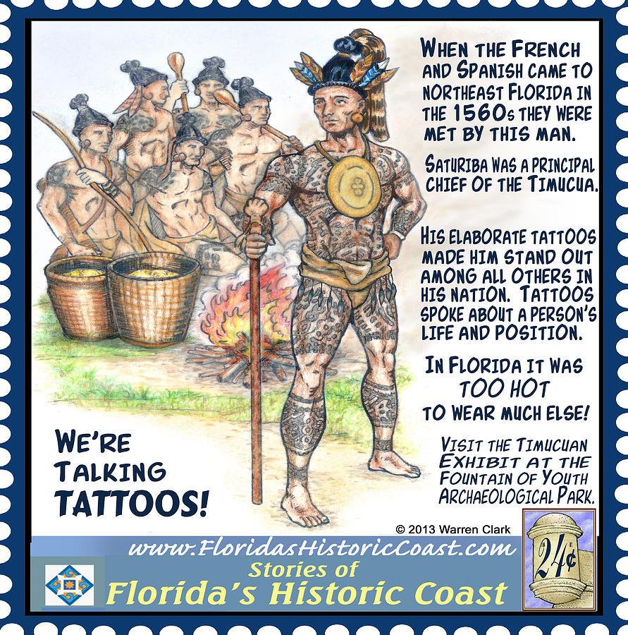 Tattoo Mixed Media - Were Talking Tattoos by Warren Clark