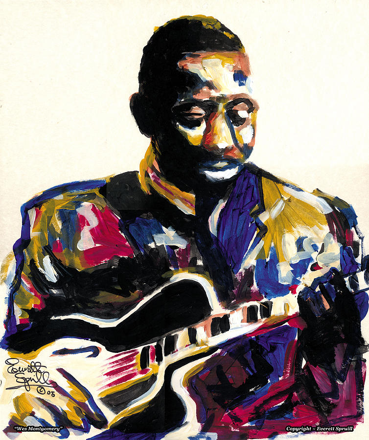 Wes Montgomery Painting