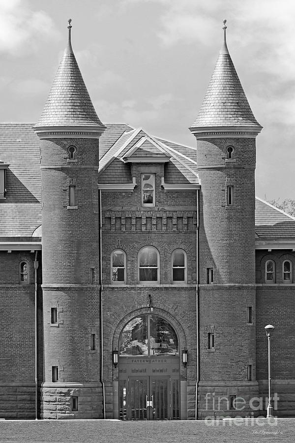 Wesleyan University Photograph - Wesleyan University Fayerweather  by University Icons