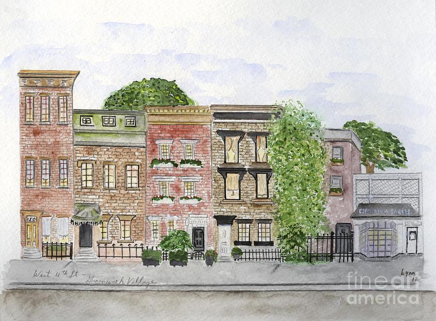 West 11th St in Greenwich Village by AFineLyne