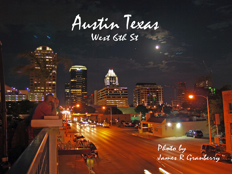 West 6th St by James Granberry