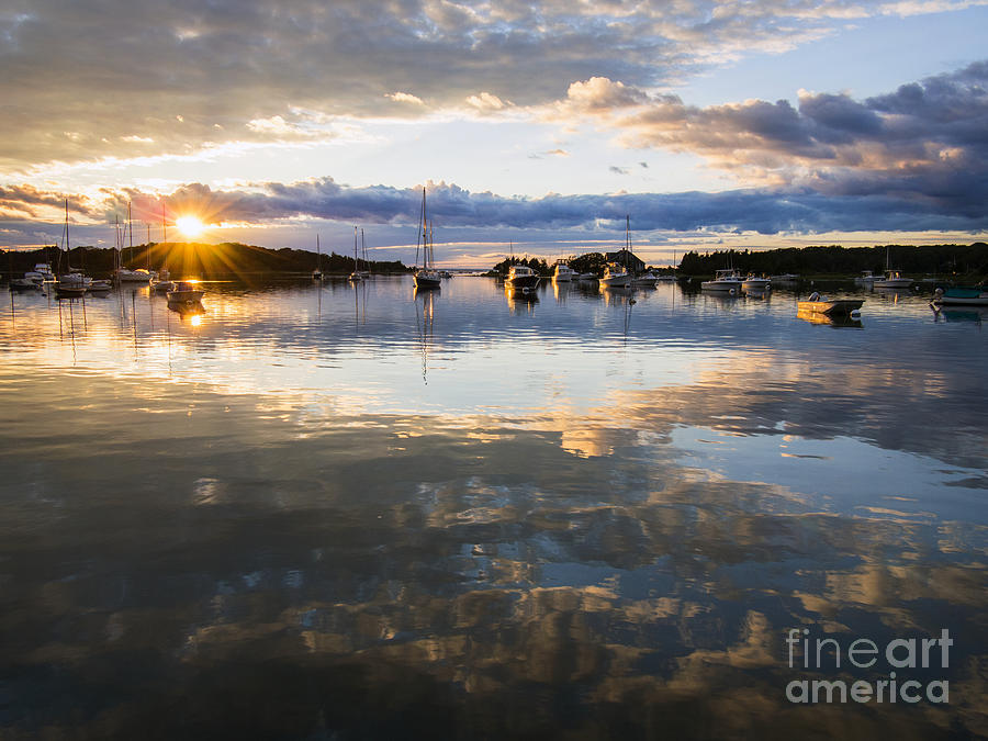 West Falmouth Harbor 091613-02 by Gene  Marchand