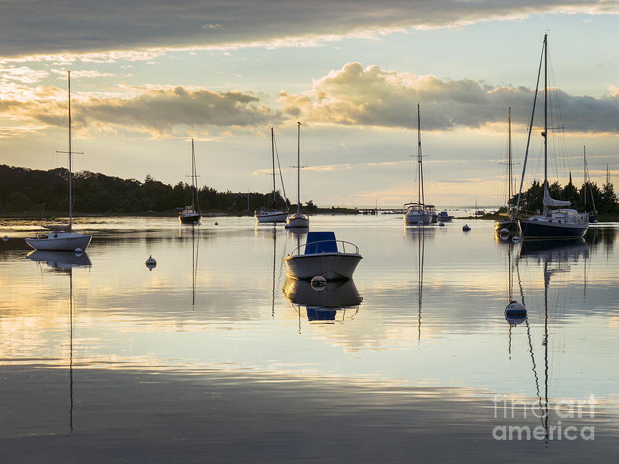 West Falmouth Harbor 091613-03 by Gene  Marchand