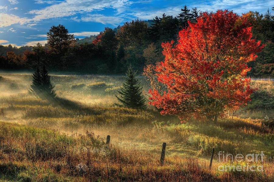 West virginia fall sunrise i photograph by dan carmichael for West fall