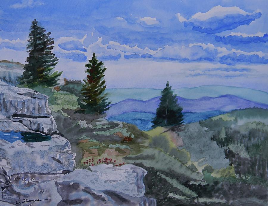 Sky Painting - West Virginia On My Mind by Warren Thompson