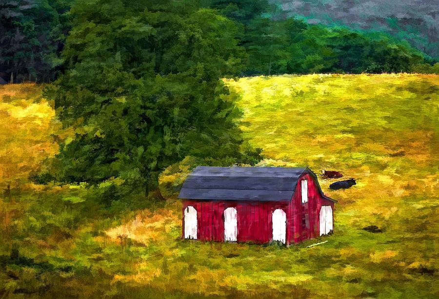 West Virginia Photograph - West Virginia Painted by Steve Harrington