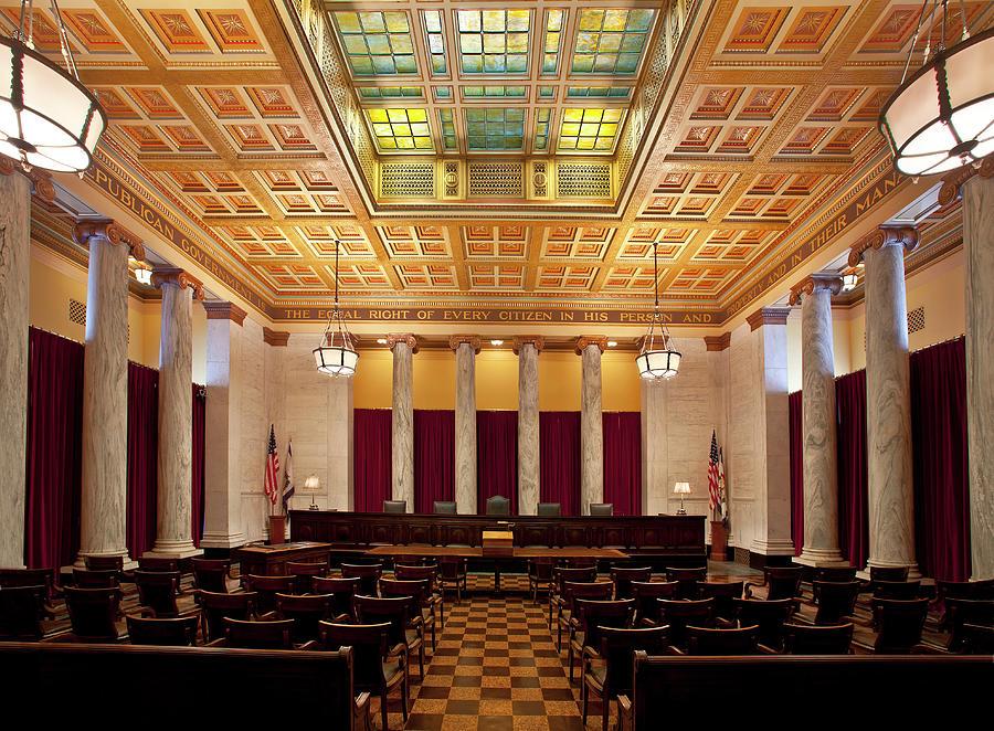 West Virginia Supreme Court Photograph by Thorney Lieberman