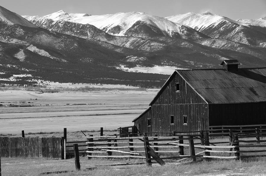 Barn Photograph - Westcliffe Colorado by Jerry Mann