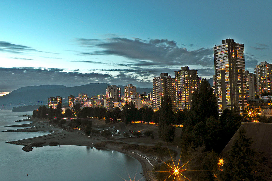 Westend Photograph - Westend Vancouver by Brian Chase