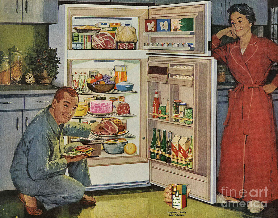 50s Kitchen Bradbury Atomic Age Wallpaper Makes These Two