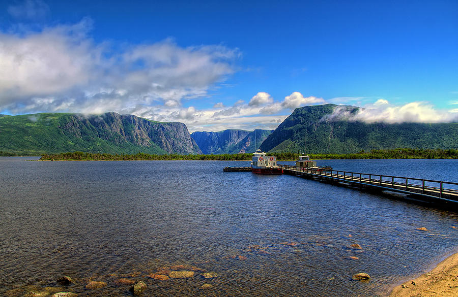 Western Brook Fjord. by Evelyn Garcia