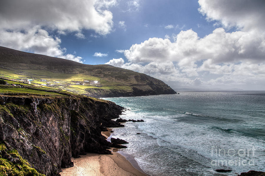 Dingle Photograph - Western Coast Of Ireland by Juergen Klust