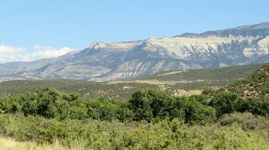 Mountains Photograph - Western Colorado by Diane Mitchell