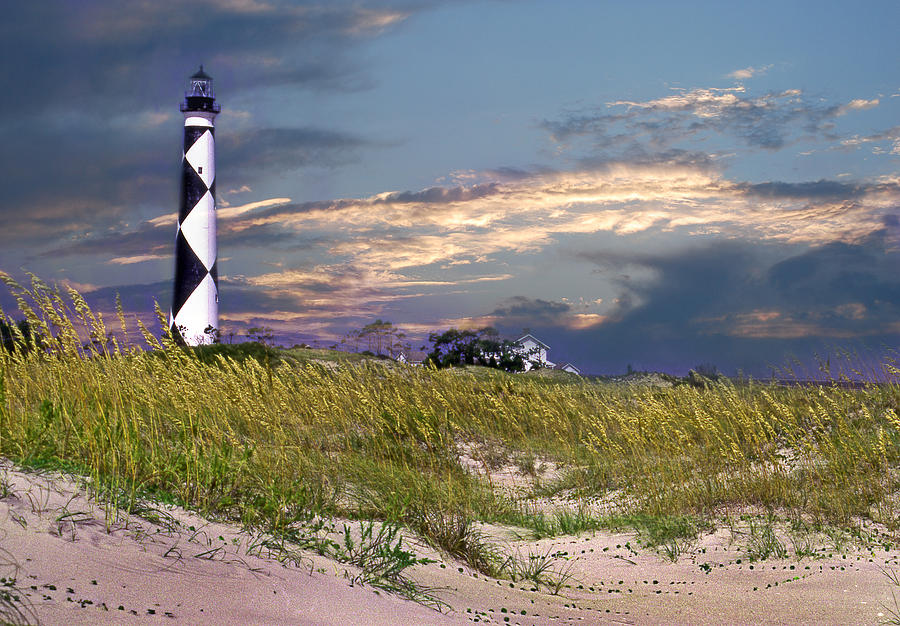 Nc Photograph - Western Front Cape Lookout by Skip Willits