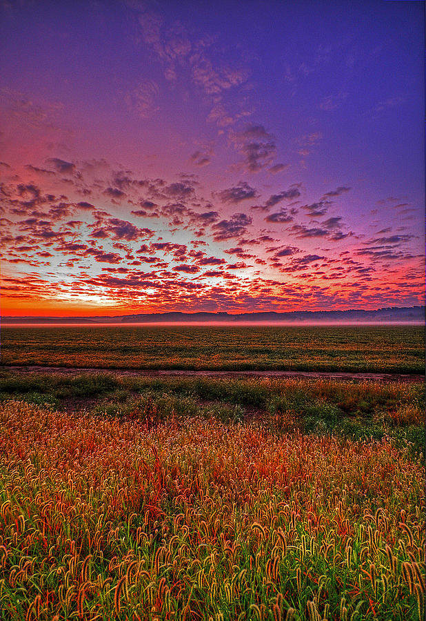 Western Iowa Sunrise Photograph