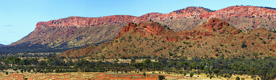 Western Macdonnell Ranges by Paul Svensen