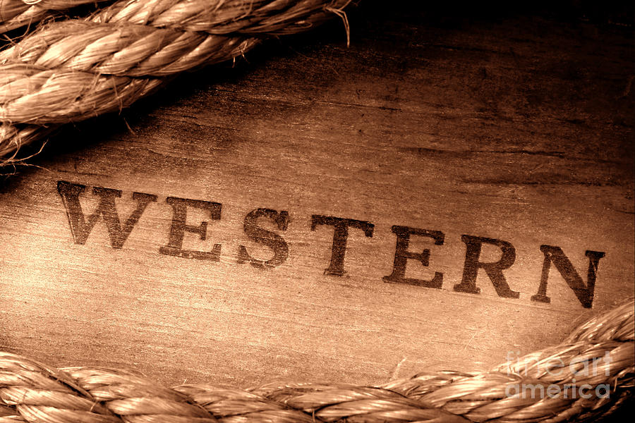 Western Photograph - Western Stamp Branding by Olivier Le Queinec