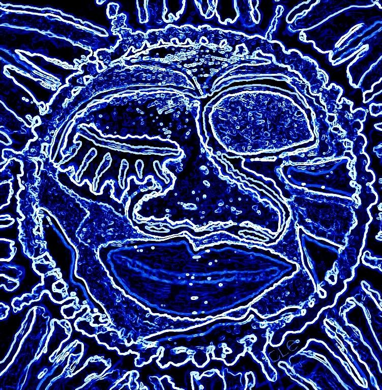 Sun Digital Art - Western Sun by Cleaster Cotton