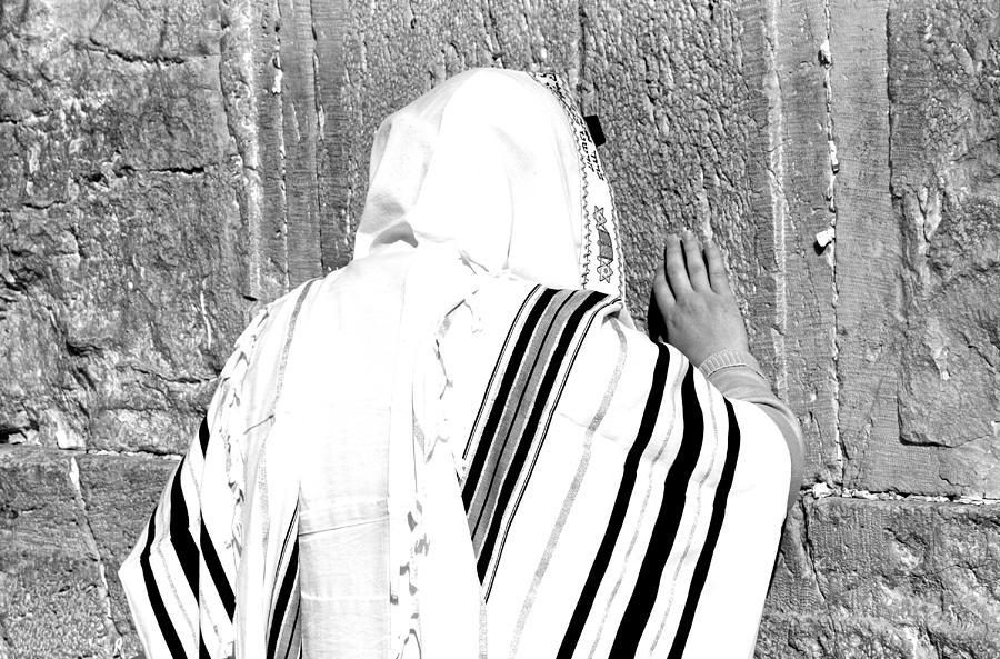 Jerusalem Photograph - Western Wall Devotion by Stephen Stookey