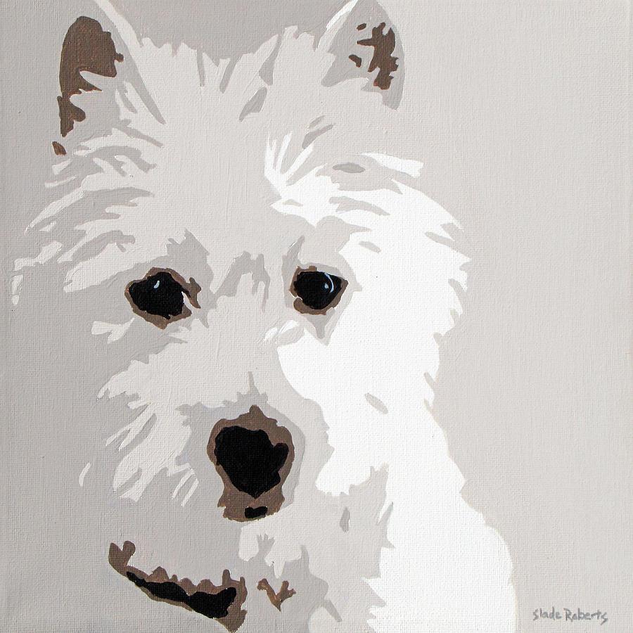 Westie Painting - Westie by Slade Roberts