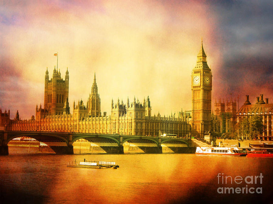Westminster Photograph - Westminster 2 by Heidi Hermes