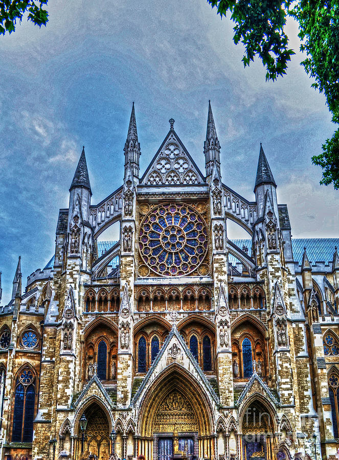 Early Middle Ages Photograph - Westminster Abbey - North Transept by Skye Ryan-Evans