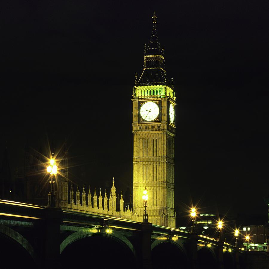 Westminster Bridge And Big Ben At Photograph by Hisham Ibrahim