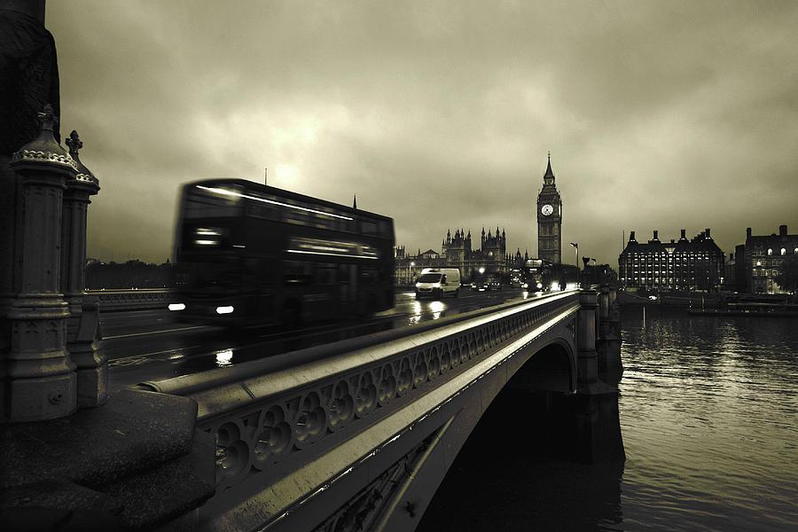 Bridge Photograph - Westminster Bridge by Scott Lanphere