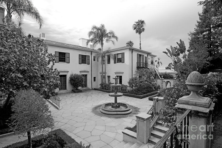American Photograph - Westmont College Courtyard by University Icons