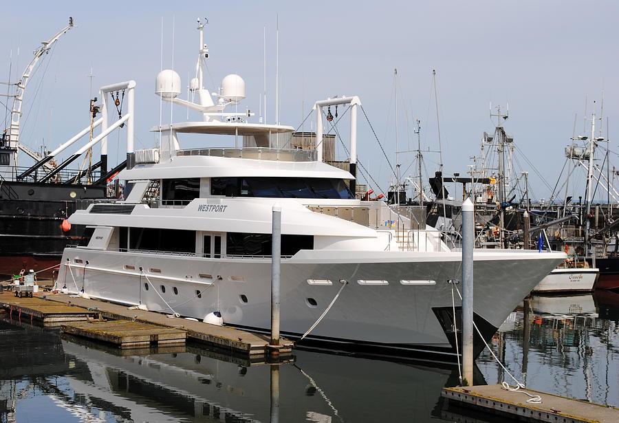 Westport Yacht Photograph by Michael Bruce