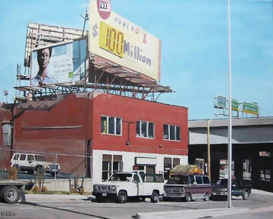 Kansas City Painting - Westside Kc by Patricio Lazen