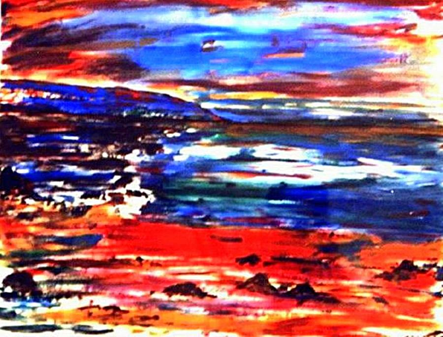 Seascape Painting - Westward Ho by Anthony Fox