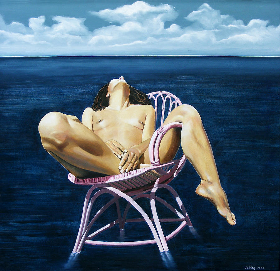 Nude Painting - Wet Dream by Jo King