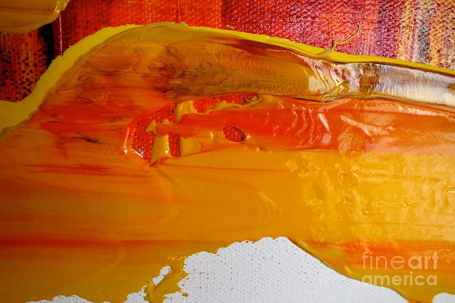 Wet Paint 122 Photograph