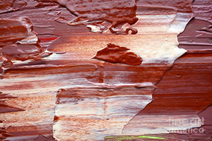 Wet Paint 93 Photograph
