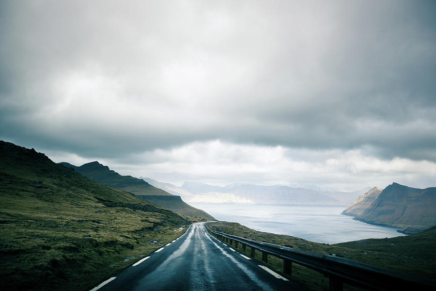 Wet Road Photograph by Annelogue Photography