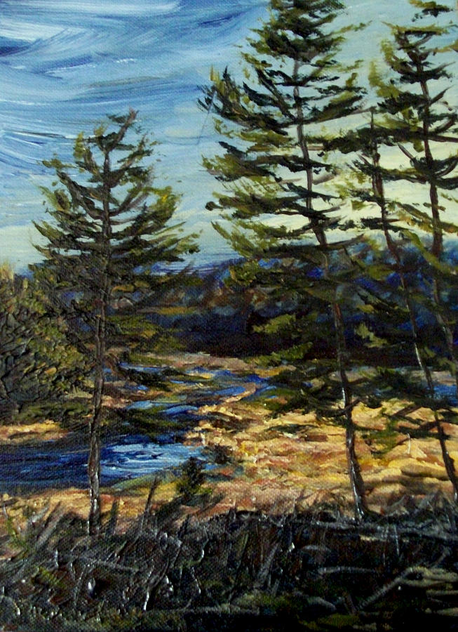 Adirondacks Painting - Wetland Meadow by Denny Morreale