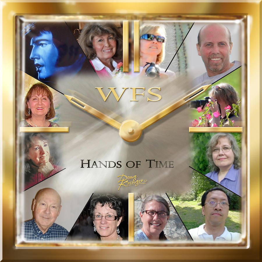 Watch Painting - Wfs Hands Of Time by Doug Kreuger