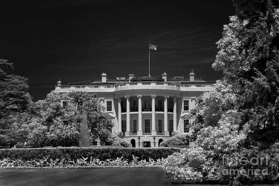 White House Photograph - WH1 by Mike Kurec