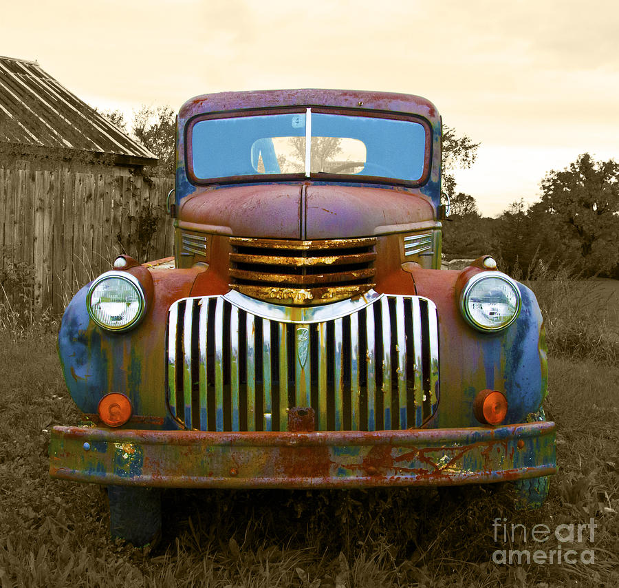 Chevy Photograph - What A Beauty by John Debar