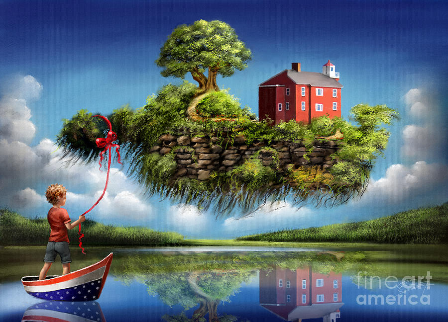 What A Wonderful World Painting by S G