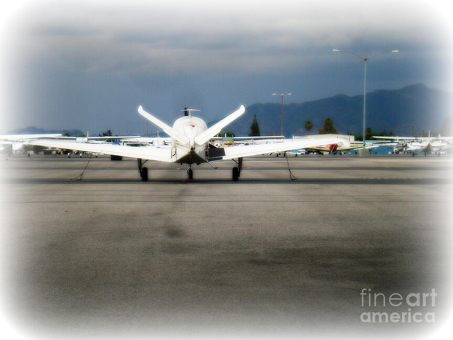 Aviation Photograph - What fly girl is dreaming about by De La Rosa Concert Photography