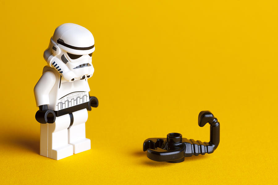 Lego Photograph - What Is It by Samuel Whitton