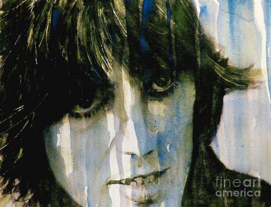 George Harrison  Painting - What Is Life by Paul Lovering
