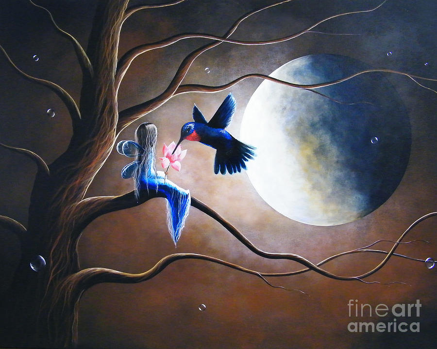 Hummingbird Painting - What Love Looks Like By Shawna Erback by Erback Art