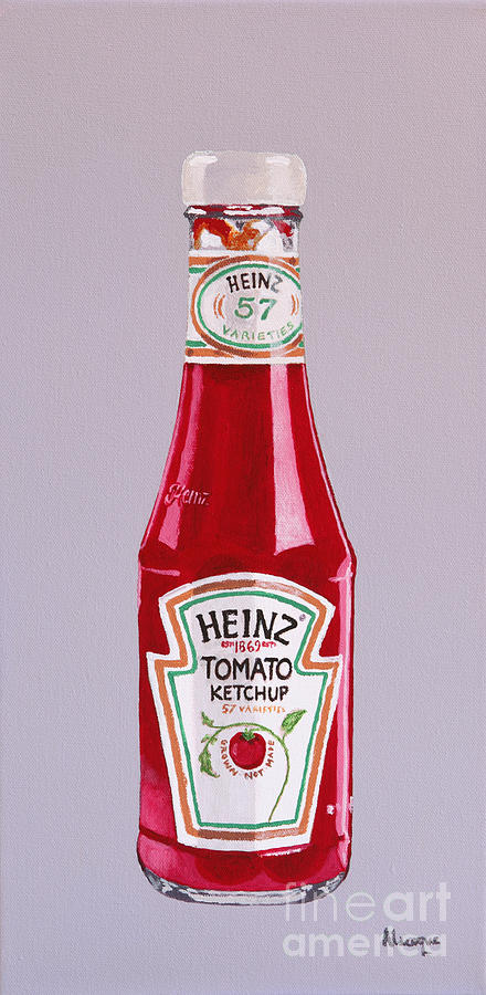 Heinz Painting - What No Chips by Alacoque Doyle