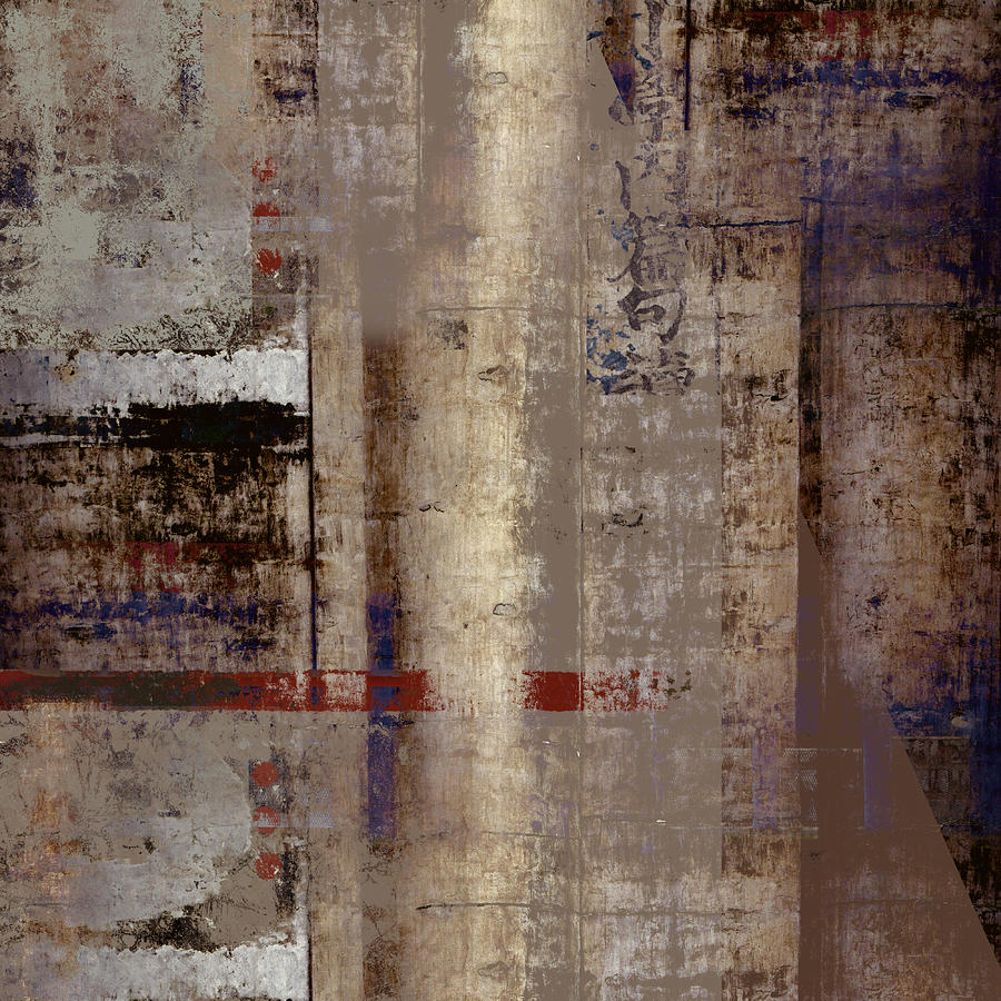 Abstract Photograph - What Remains by Carol Leigh