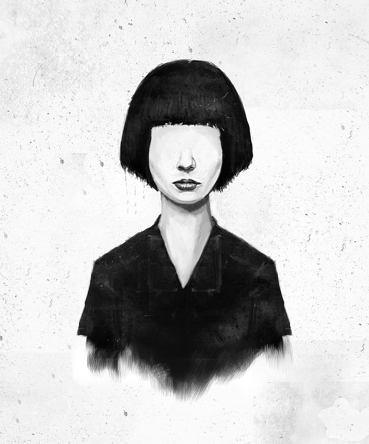 Girl Mixed Media - What You See Is What You Get by Balazs Solti