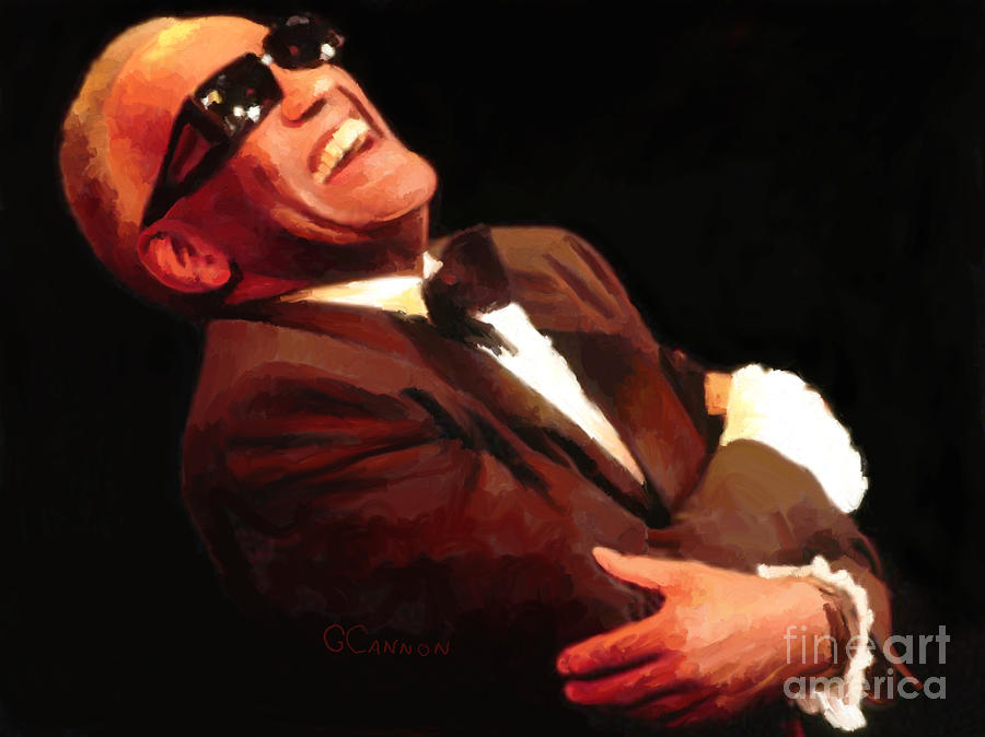 Ray Charles Digital Art - Whatd I Say by G Cannon